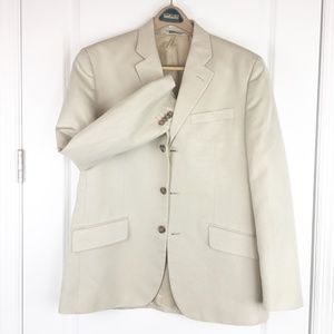 Banana Republic Sport Coat Beige 4 Button 40S
